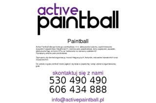 http://www.activepaintball.pl