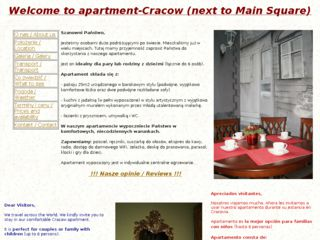 http://www.apartment-cracow.pl