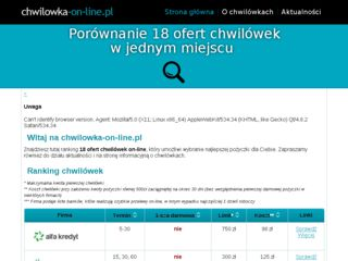http://chwilowka-on-line.pl