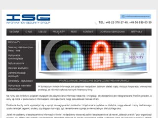 http://informationsecuritygroup.pl