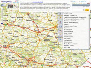 Mapa Polski Targeo Katalog Stron Internetowych