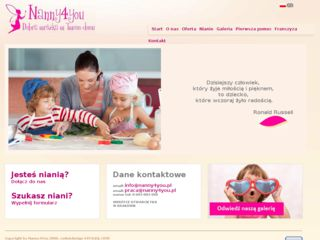 http://www.nanny4you.pl