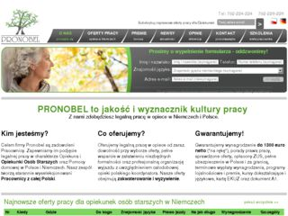 http://pronobel.pl