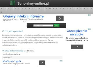 http://www.synonimy-online.pl