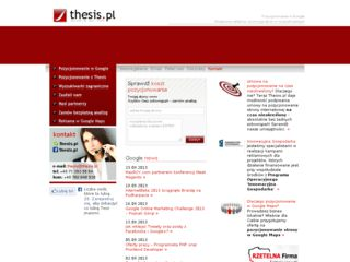 http://www.thesis.pl
